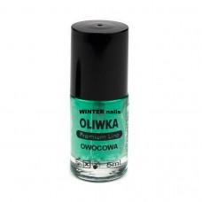 Winter nails Oliwka Owocowa